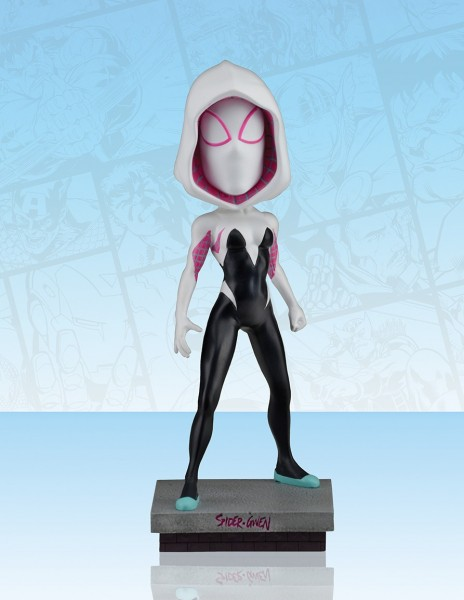 Marvel Head Knocker Wackelkopf-Figur Spider-Gwen