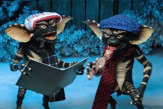 Gremlins Actionfiguren Christmas Carol Winter Scene Set 1 (2-Pack)