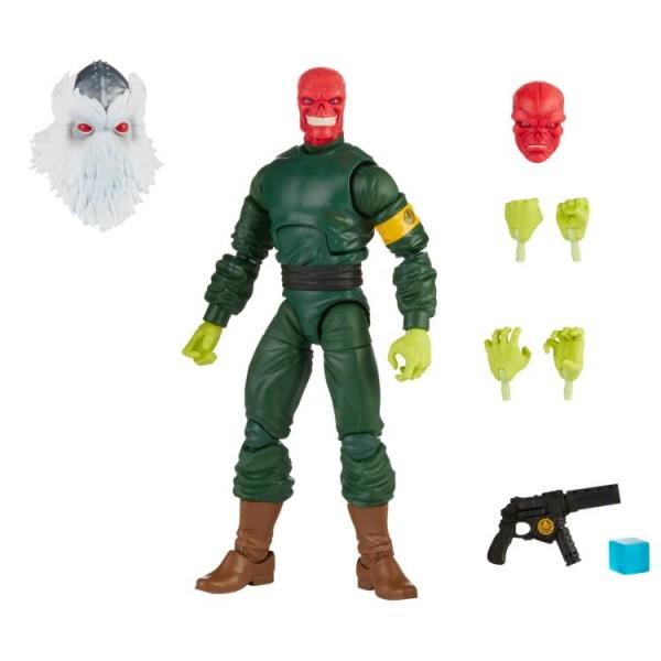 Super Villains Marvel Legends Actionfigur Red Skull