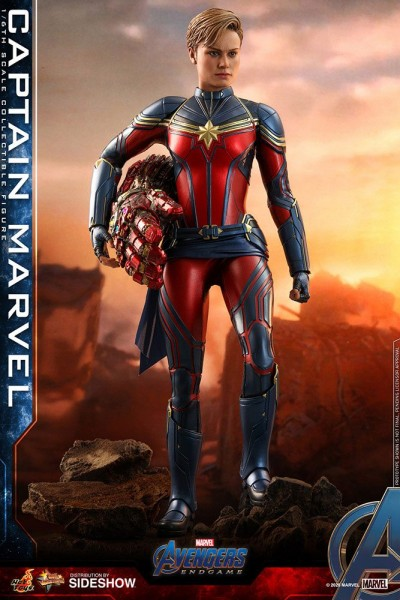 Avengers Endgame Movie Masterpiece Actionfigur 1/6 Captain Marvel