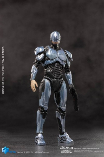 Robocop 2014 Exquisite Mini Actionfigur 1/18 Robocop Silver