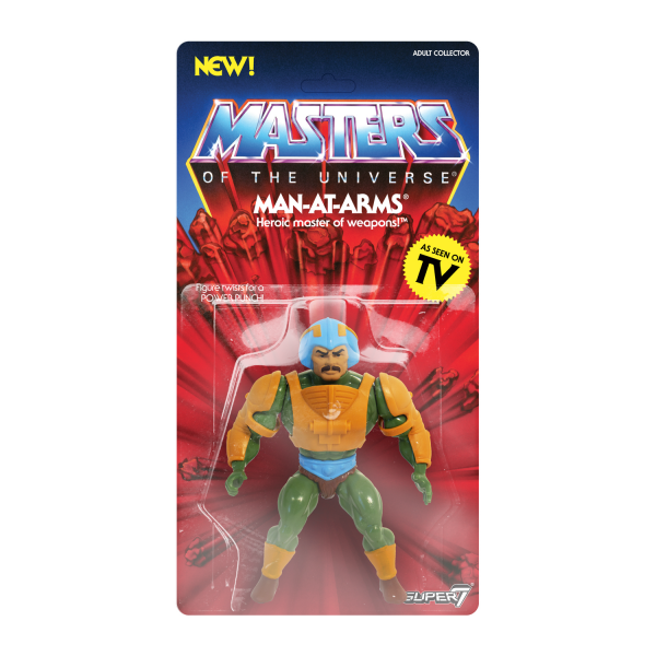 Masters of the Universe Vintage Actionfigur Man-At-Arms