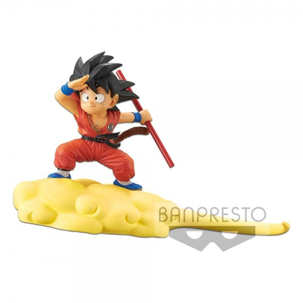 Dragonball Kintoun Statue Son Goku auf Jindujun (Normal Color Version)