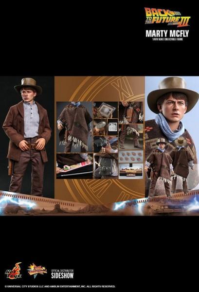 Zurück in die Zukunft III Movie Masterpiece Actionfigur 1/6 Marty McFly