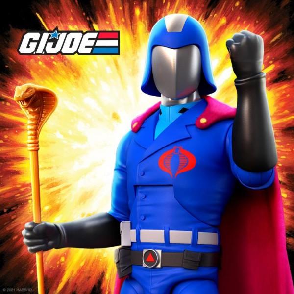 G.I. Joe Ultimates Actionfigur Cobra Commander