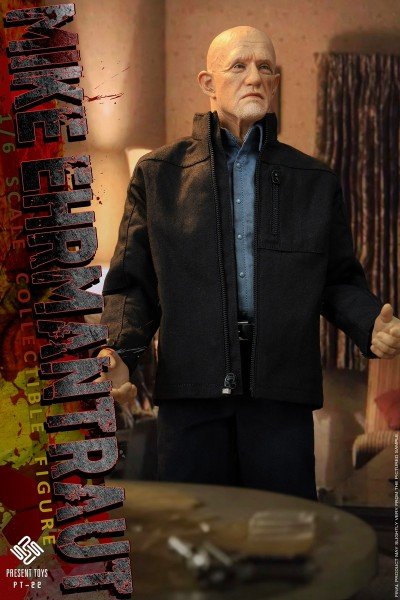 Present Toys 1/6 Actionfigur Mike Ehrmantraut