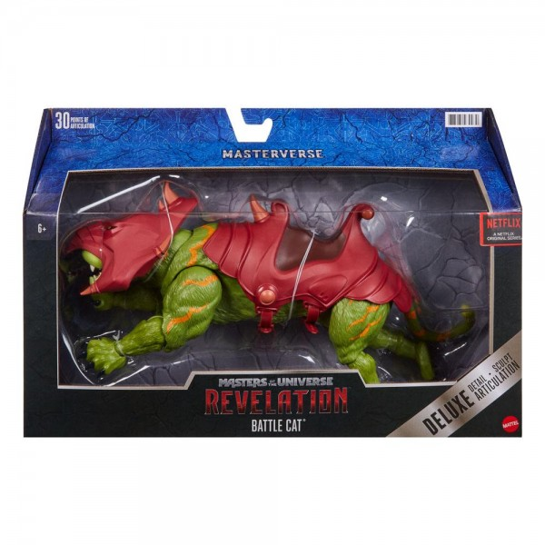 Masters of the Universe: Revelation Actionfigur Battle Cat (Deluxe)