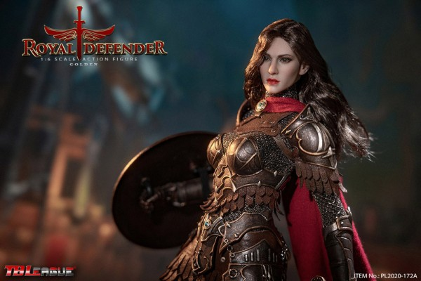 Phicen / TBLeague 1/6 Actionfigur Royal Defender-Golden (Long Hair Version)