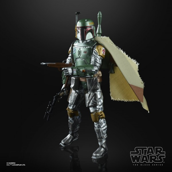 Star Wars Black Series Actionfigur 15 cm Boba Fett (Carbonized) Exclusive