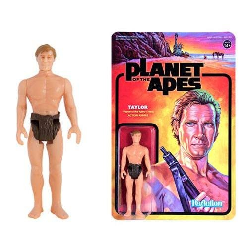 Planet of the Apes ReAction Actionfigur Taylor