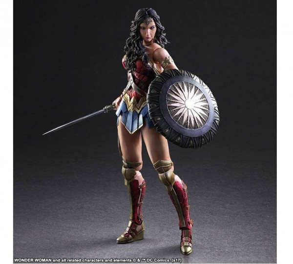 Wonder Woman Movie Play Arts Kai Actionfigur Wonder Woman