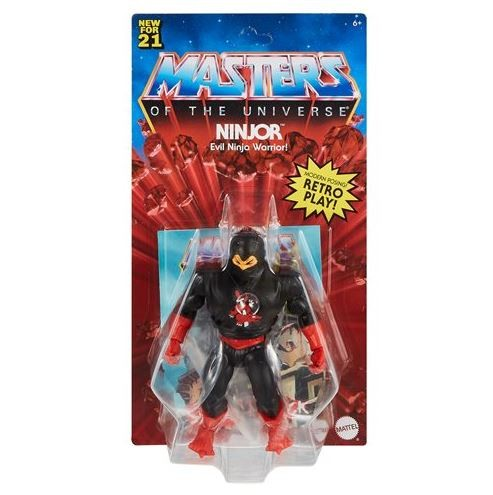 Masters of the Universe Origins 2021 Actionfigur Ninjor
