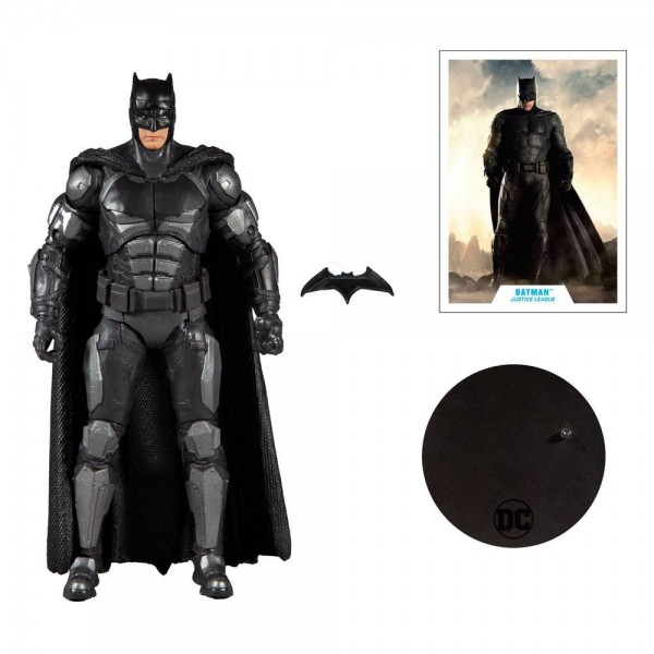DC Multiverse Actionfigur Batman (Justice League Movie)