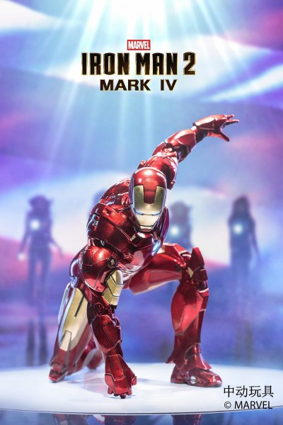 ZD Toys Actionfigur 1/10 Iron Man Mark IV