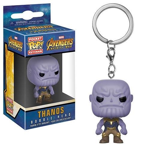 Avengers Infinity War Pop! Pocket Keychain Vinylfigur Thanos