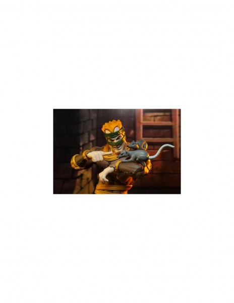 Teenage Mutant Ninja Turtles Actionfiguren Cartoon Rat King & Vernon (2-Pack)