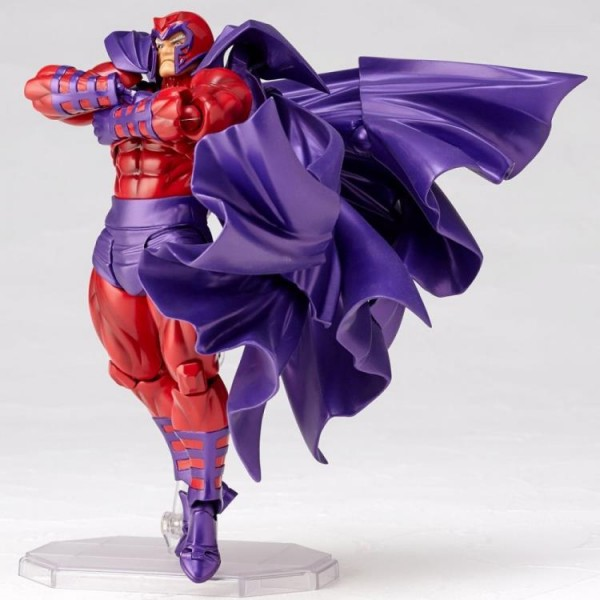 American Comics Characters Revoltech Amazing Yamaguchi Actionfigur Magneto #006