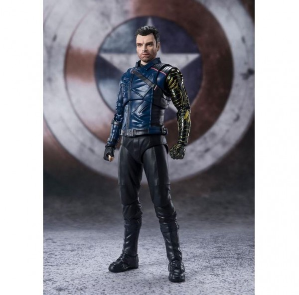 The Falcon and the Winter Soldier S.H. Figuarts Actionfigur Bucky Barnes