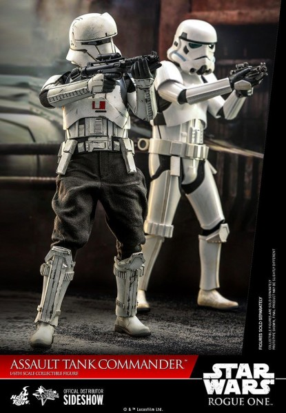 Star Wars Rogue One Movie Masterpiece Actionfigur 1/6 Assault Tank Commander