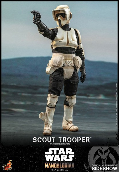 Star Wars The Mandalorian Television Masterpiece Actionfigur 1/6 Scout Trooper