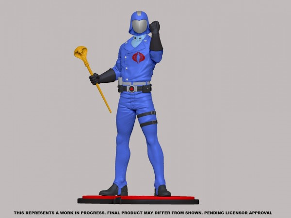 G.I. Joe Statue 1/8 Cobra Commander