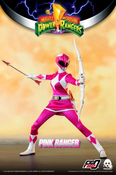 Mighty Morphin Power Rangers FigZero Actionfigur 1/6 Pink Ranger
