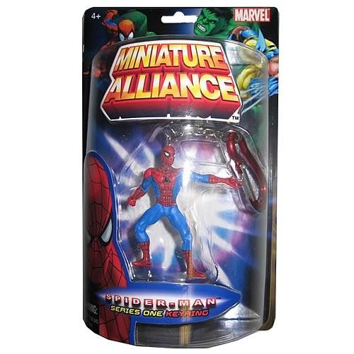 Spider-Man Minifigur Schlüsselanhänger