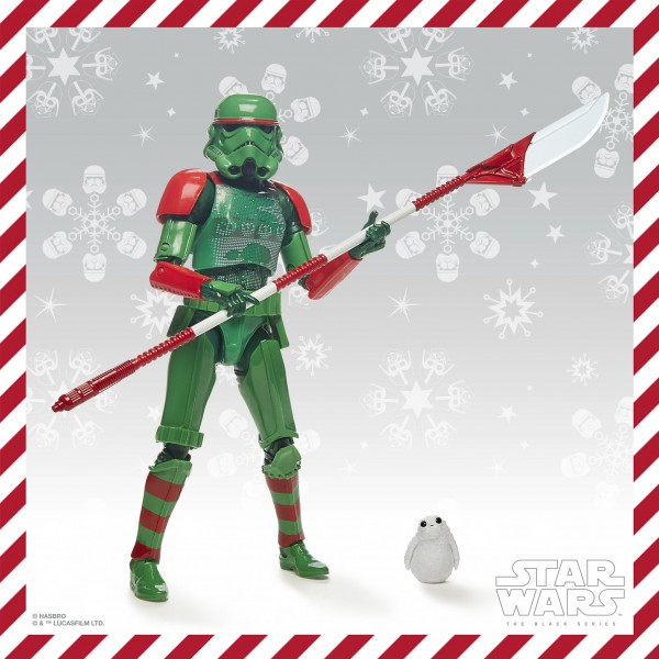Star Wars Black Series Actionfigur 15 cm Imperial Stormtrooper (Holiday Edition) Exclusive