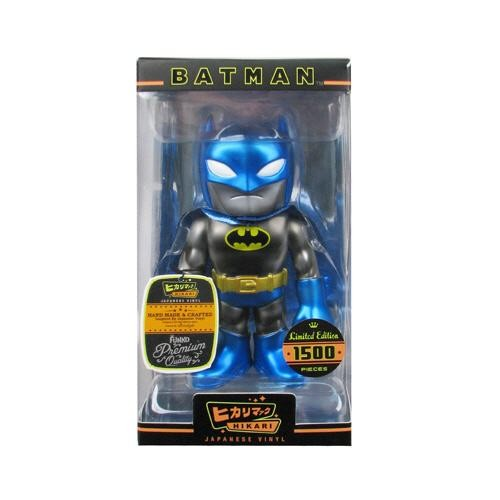 Batman Funko Sofubi Vinylfigur Dark Knight Glitter