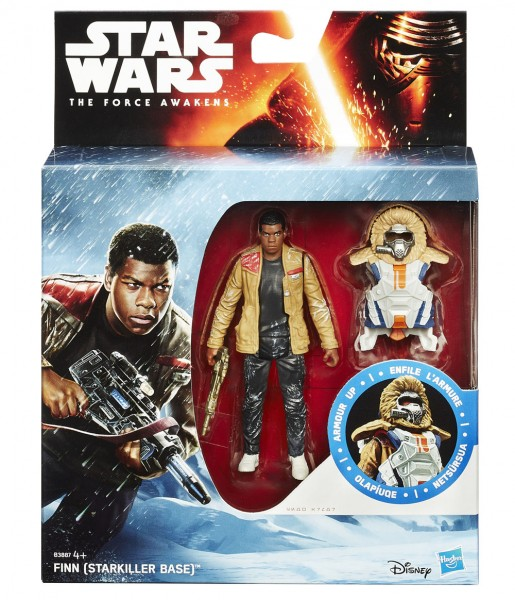 Star Wars Force Awaken Armor Up Actionfigur 10 cm Finn (Starkiller Base)