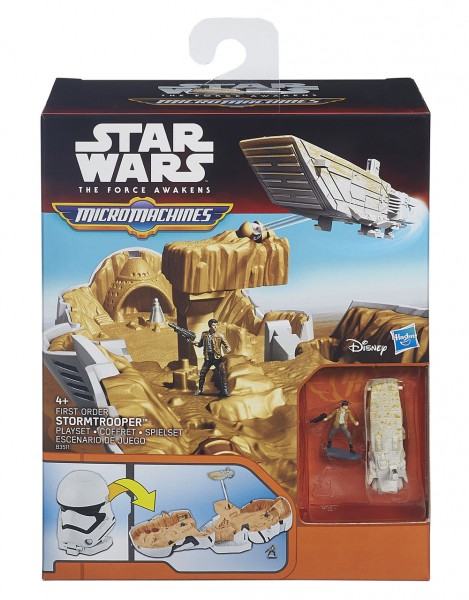 Star Wars Micro Machines Play-Set First Order Stormtrooper