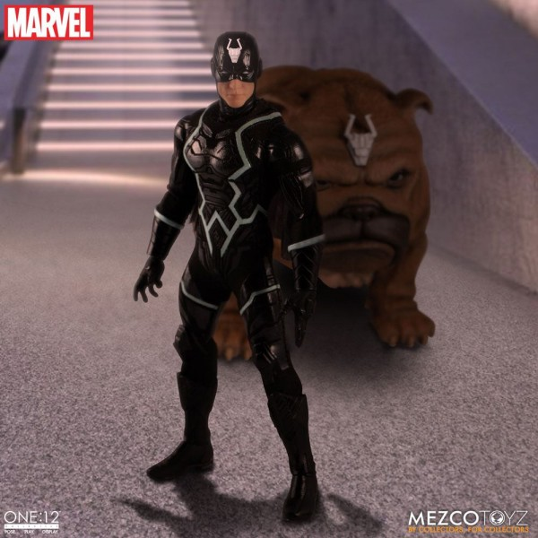 Marvel ´The One:12 Collective´ Actionfiguren 1/12 Black Bolt & Lockjaw