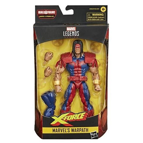 Deadpool Marvel Legends Actionfigur Warpath
