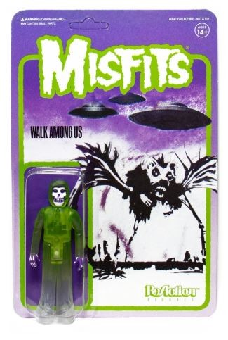 Misfits ReAction Actionfigur The Fiend Walk Among Us (Green)