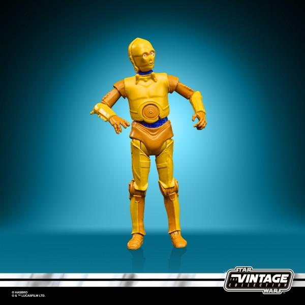 Star Wars DROIDS Vintage Collection Actionfigur 10 cm SEE-THREEPIO (C-3PO) Exclusive