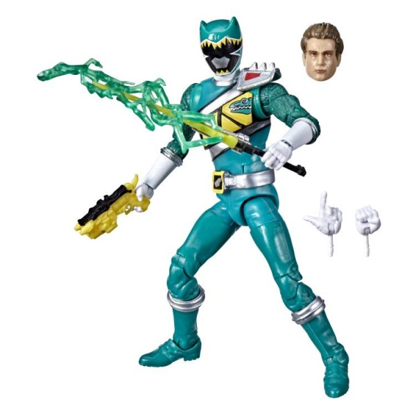Power Rangers Lightning Collection Actionfigur 15 cm Dino Charge Green Ranger