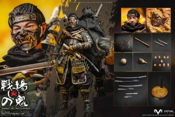 VTS Toys 1/6 Actionfigur Ghost of Battlefield