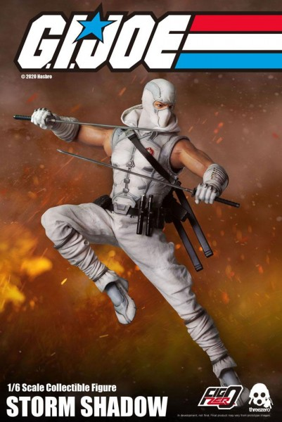 G.I. Joe FigZero Actionfigur 1/6 Storm Shadow