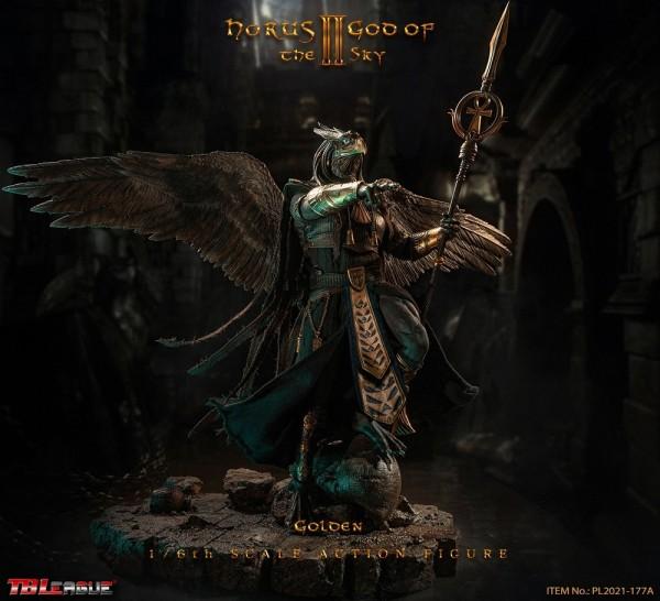 Phicen / TBLeague 1/6 Actionfigur Horus God of the Sky (Golden Version)