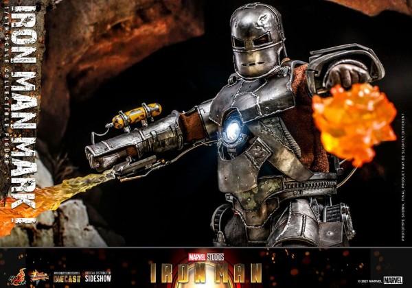 Iron Man Movie Masterpiece Diecast Actionfigur 1/6 Iron Man Mark I