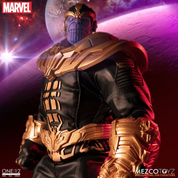 Marvel ´The One:12 Collective´ Actionfigur 1/12 Thanos