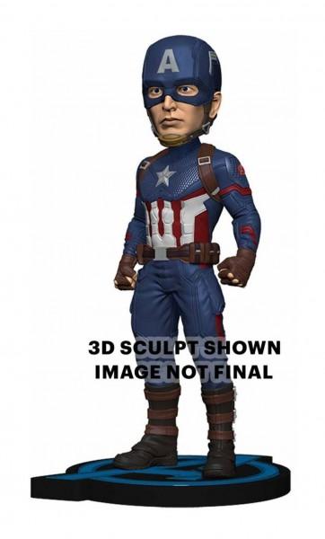 Avengers Endgame Head Knocker Wackelkopf-Figur Captain America