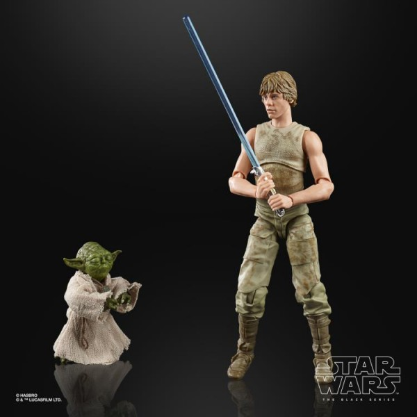 Star Wars Black Series Deluxe Actionfigur 15 cm Luke Skywalker & Yoda (Jedi Training)