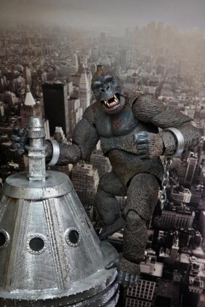 King Kong Actionfigur King Kong (Concrete Jungle)