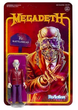 Megadeth ReAction Actionfigur Vic Rattlehead