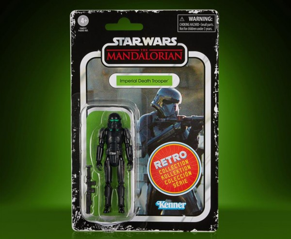 Star Wars Mandalorian Retro Collection Actionfigur 10 cm Imperial Death Trooper