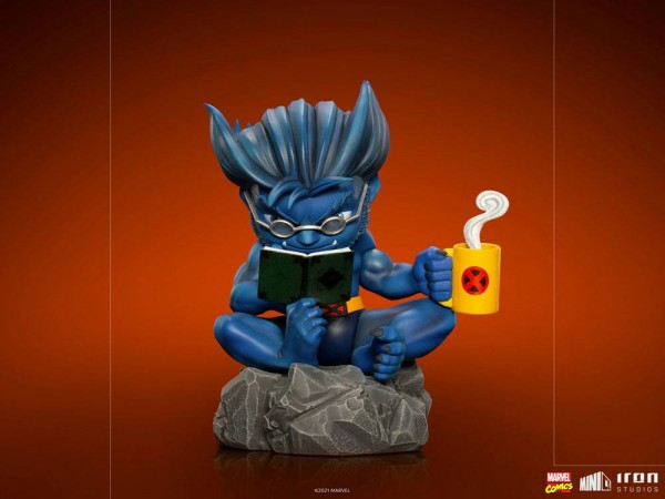 Marvel Minico PVC Figur Beast (X-Men) Deluxe