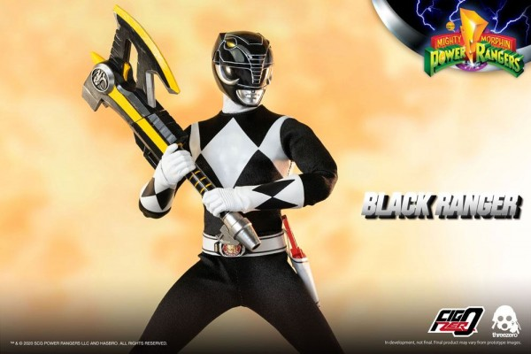 Mighty Morphin Power Rangers FigZero Actionfigur 1/6 Black Ranger