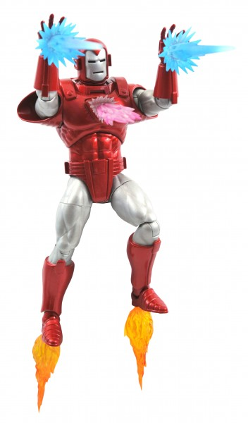 Marvel Select Actionfigur Iron Man Silver Centurion