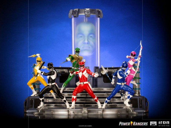 Power Rangers BDS Art Scale Statue 1/10 Black Ranger